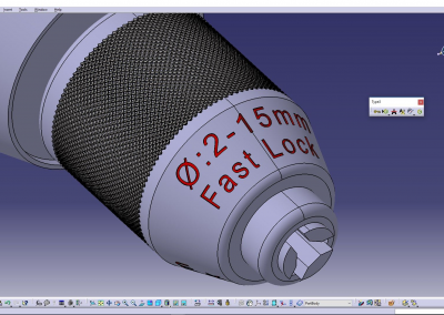 Text Mapping CATIA