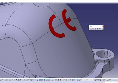 Logo CE on Surface